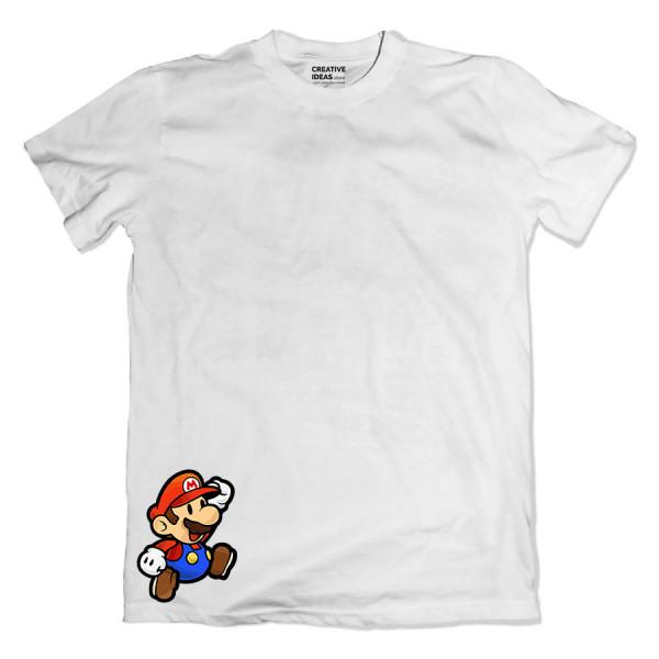 Mario White Tshirt