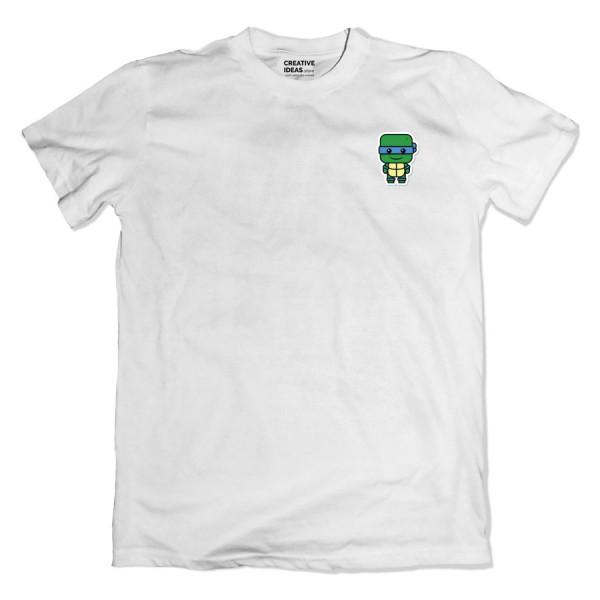 Ninja Turtle Pocket White Tshirt