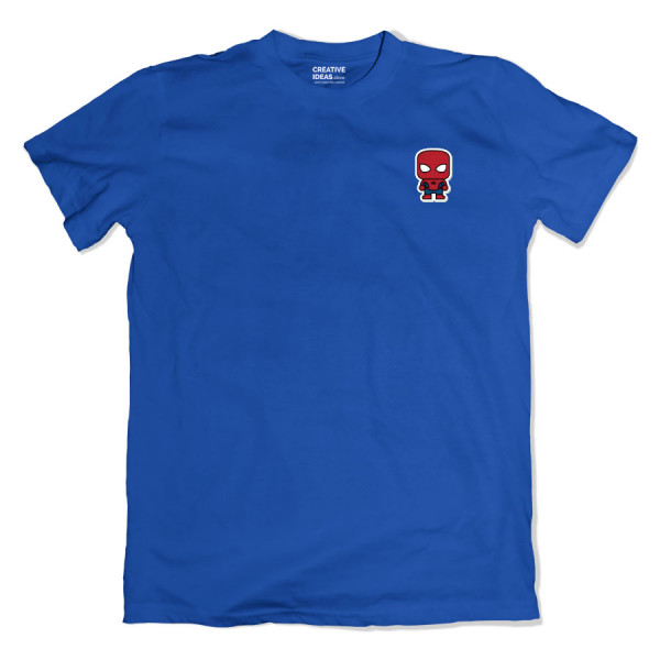 Spiderman Pocket Blue Tshirt