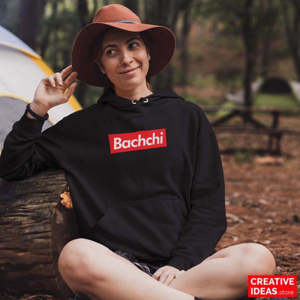 Bachchi Black Hoodie