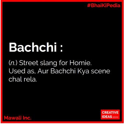 Bachchi Tshirt Black