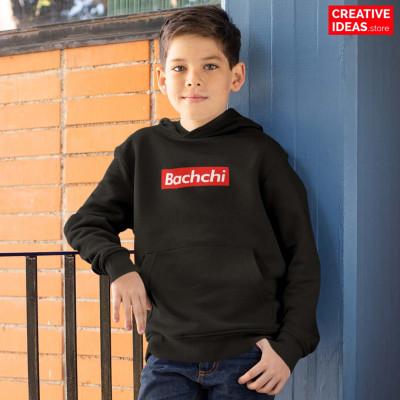 Bachchi Kids special Black Hoodie