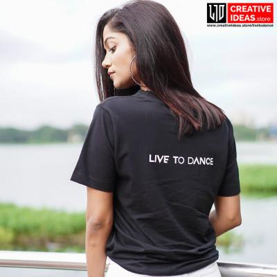 Live to Dance Tshirt Black