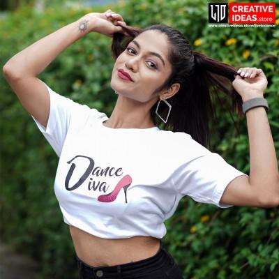 Dance Diva - Live to Dance Tshirt White