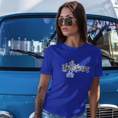 Mi Mumbaikar Blue Tshirt