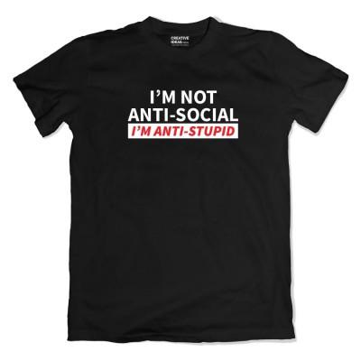 Anti Stupid Tshirt
