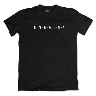 Best Friends nope ENEMIES Tshirt