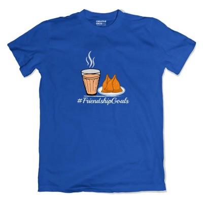 Friendship Goals Chai Samosa Tshirt