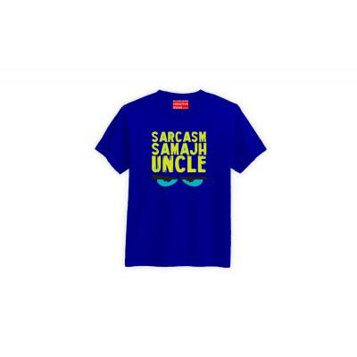 Sarcasm Samajh Uncle Tshirt