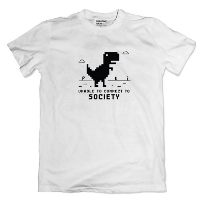 Unable to Connect to Society Tshirt