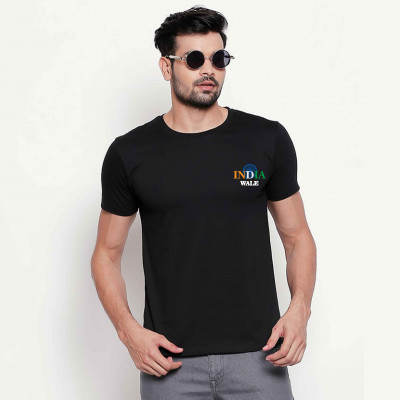 India Wale - Independence Day Tshirt Black