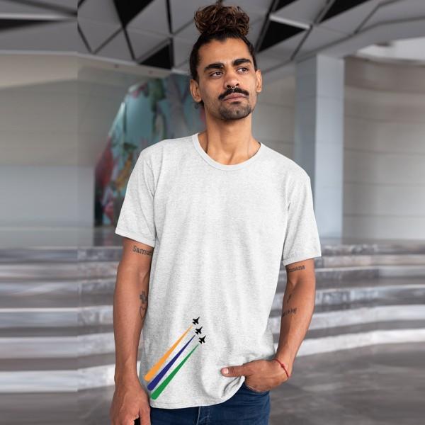 India Independence Day Tshirt White