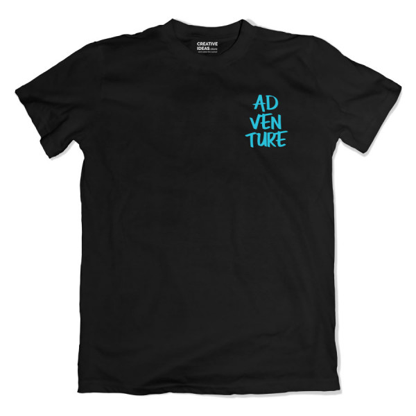 Adventure Black Tshirt