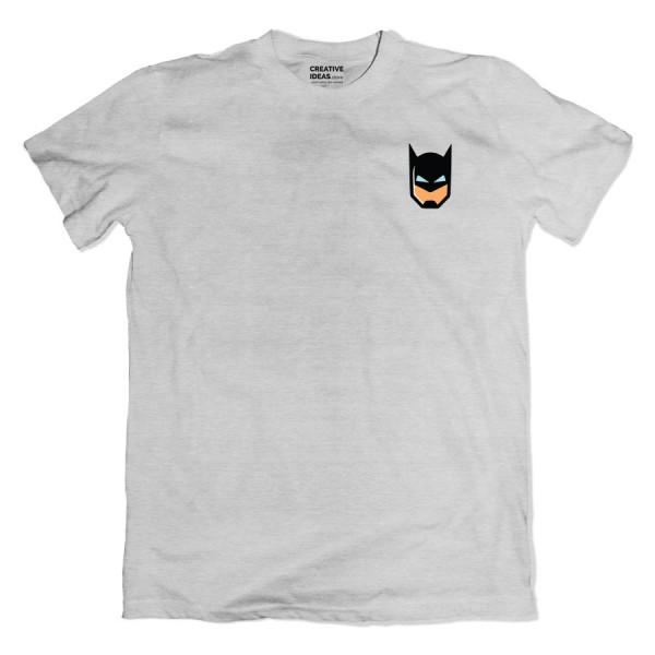 Batman Mask Pocket Grey Tshirt