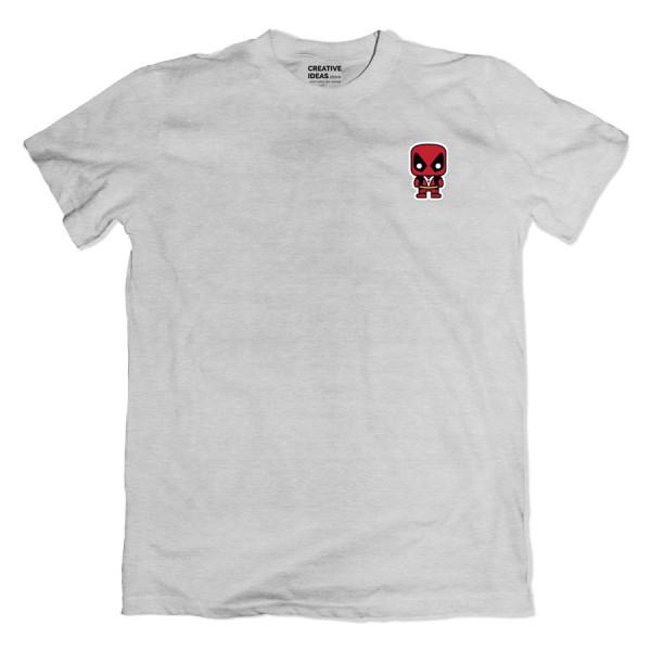 Deadpool Pocket Grey Tshirt