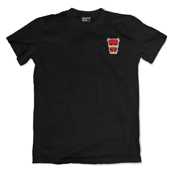 Flash Pocket Black Tshirt