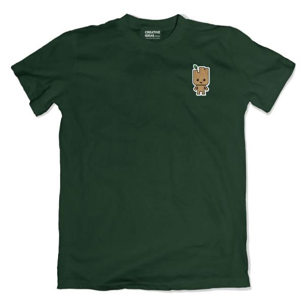 Groot Pocket Green Tshirt
