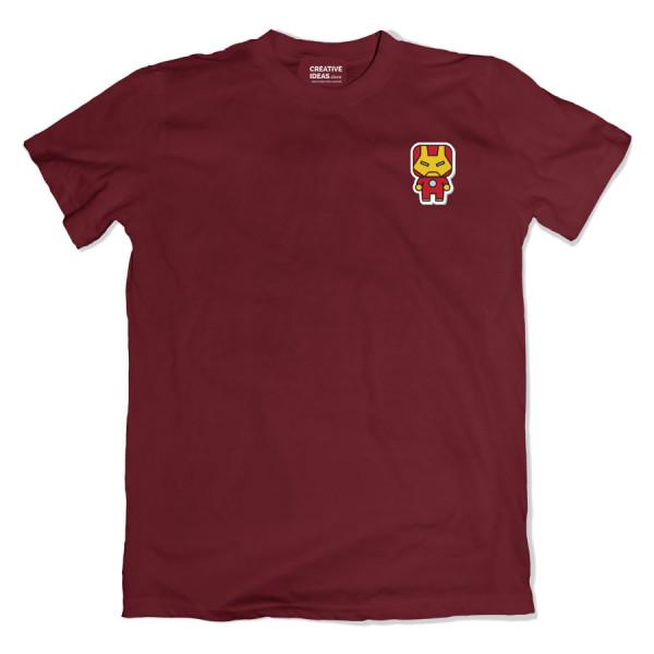 IronMan Pocket Maroon Tshirt