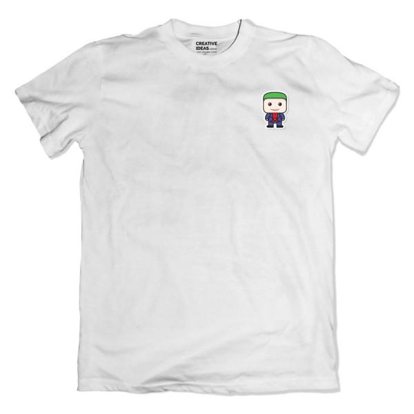 Joker Pocket White Tshirt