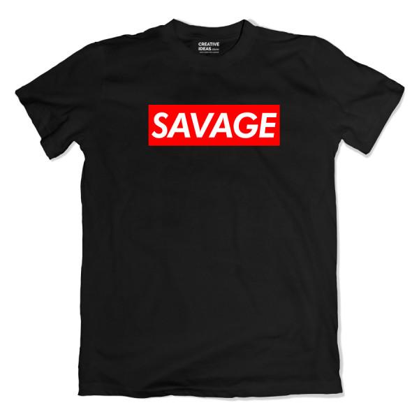 Savage Black Tshirt