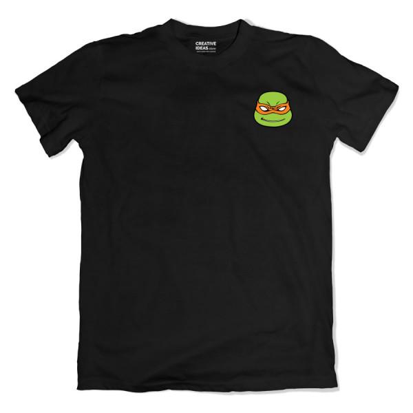 Turtle Pocket Black Tshirt