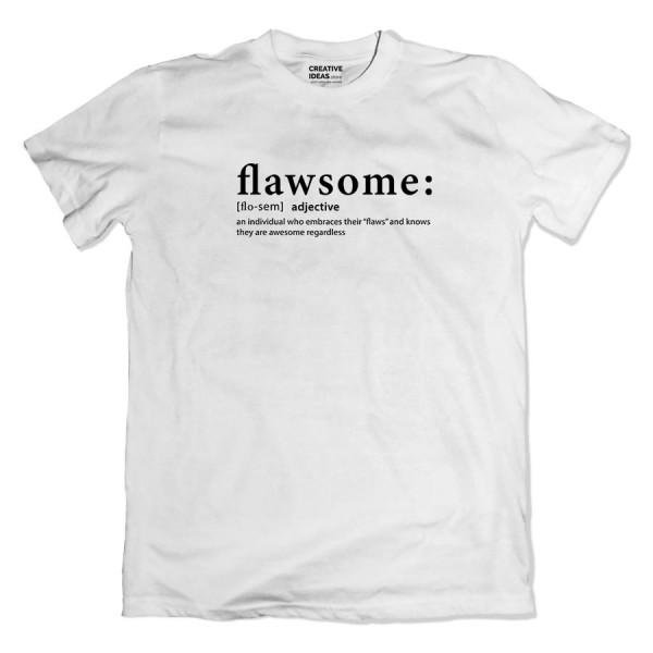 Flawsome Tshirt White
