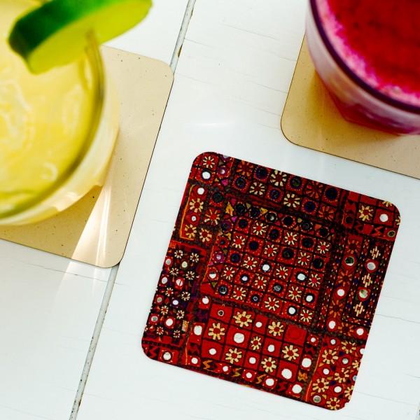 Hand Prints Tea Coaster (Set of 4) - Hellaro Merchandise