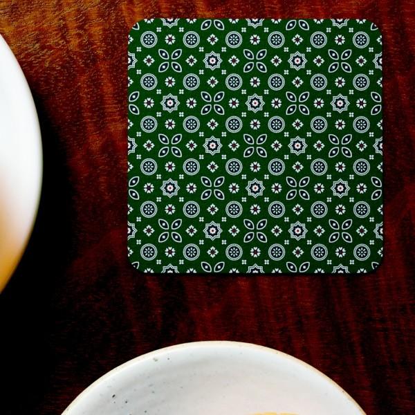 Kutchi Prints Tea Coaster (Set of 4) - Hellaro Merchandise
