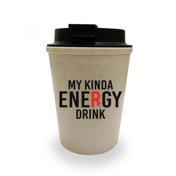 My Kinda Energy Drink BAMBOO Mug by Viraj Ghelani