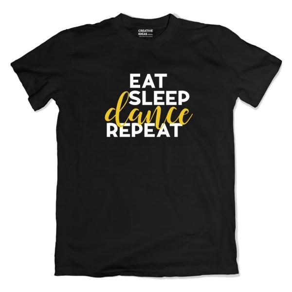 Eat Sleep Dance Repeat Tshirt
