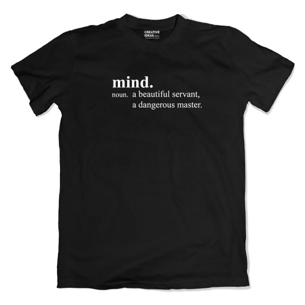 Mind Tshirt Black