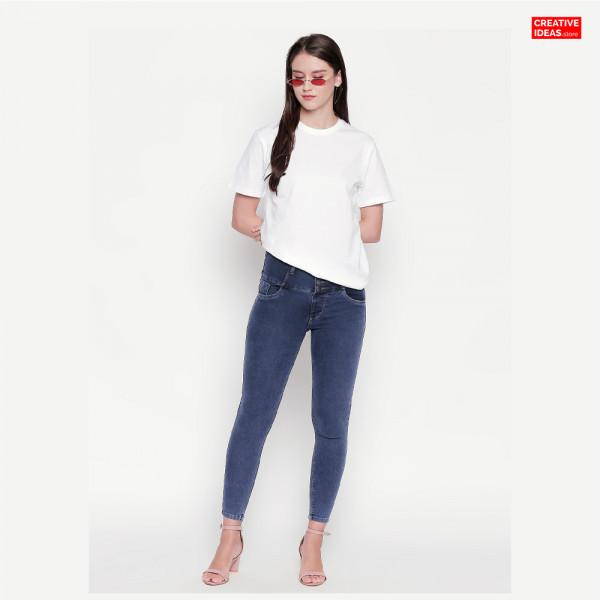 White Plain Tshirt | 100% Cotton Bio-washed