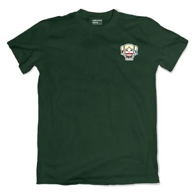 Harley Quinn Pocket Green Tshirt
