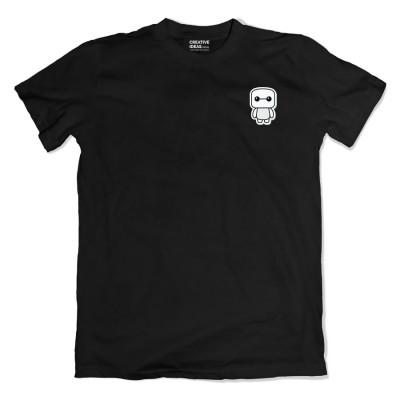 Hiro Pocket Black Tshirt