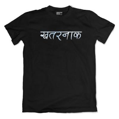 Khatarnak Black Tshirt