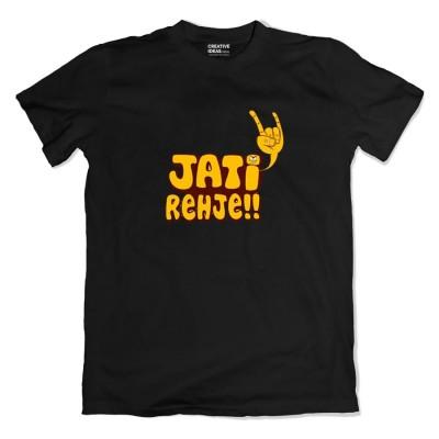 Jati Rehje Black Tshirt