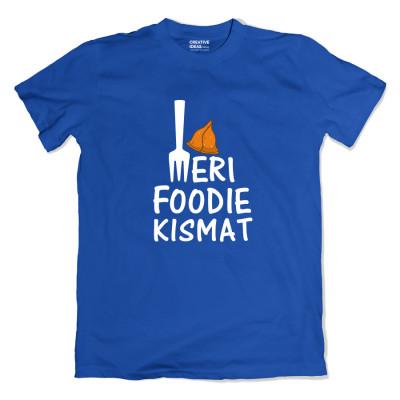 Meri Foodie Kismat Blue Tshirt
