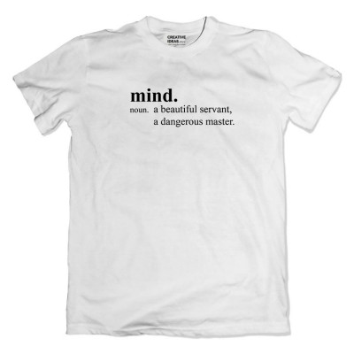 Mind Tshirt White