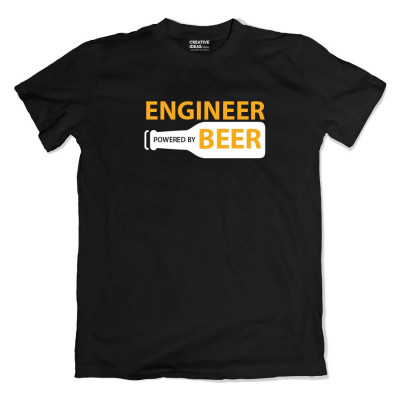 Engineer - Powered by Beer Tshirt