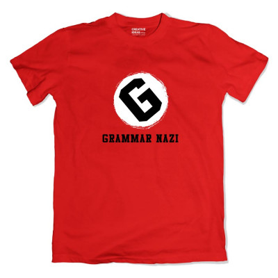 Grammar Nazi Tshirt