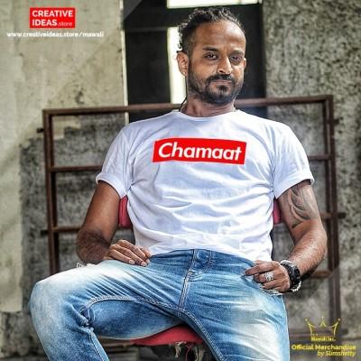 Chamaat Tshirt White