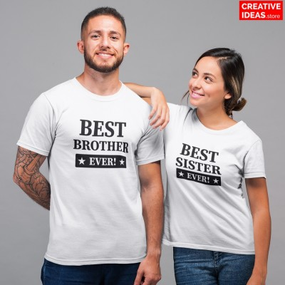 Best Brother Sister Ever Tshirt