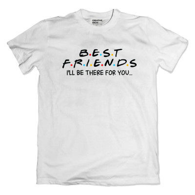 Best F r i e n d s White Tshirt