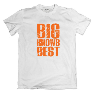Small Knows Better - Big Knows Better bro sis Tshirt