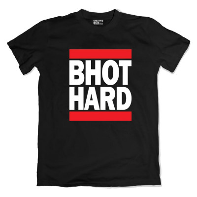 Bhot Hard Mawali Tshirt Black