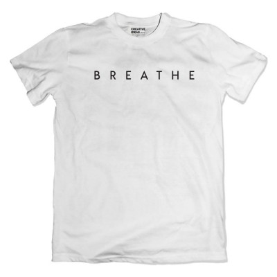 Breathe White Tshirt