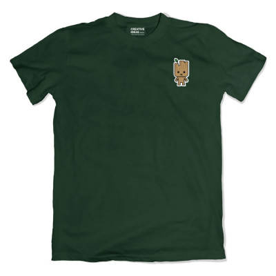 Groot Pocket Green Tshirt