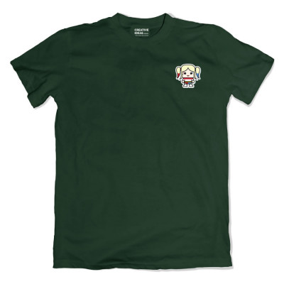 Harley Quinn Pocket Green Tshirt
