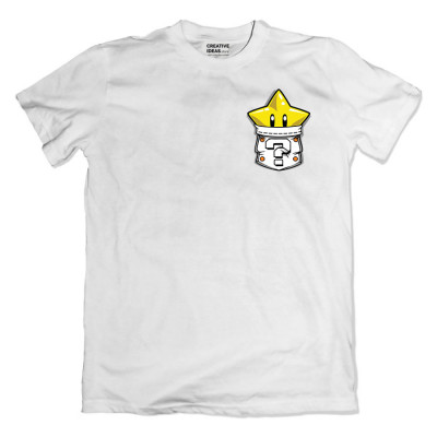 Mario Start White Tshirt
