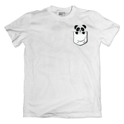 Panda White Tshirt